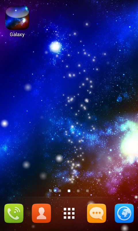 live wallpaper galaxy free android live wallpaper download