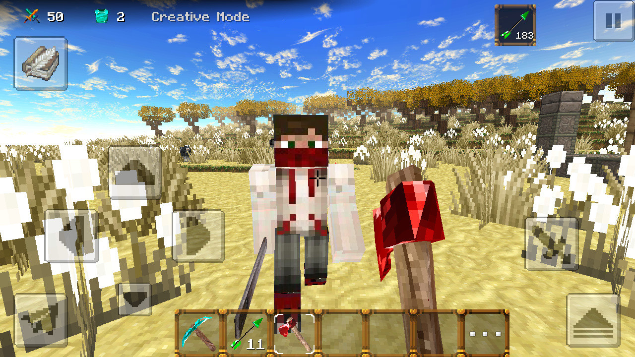 World of craft survival build apk free simulation android for Survival craft free download pc