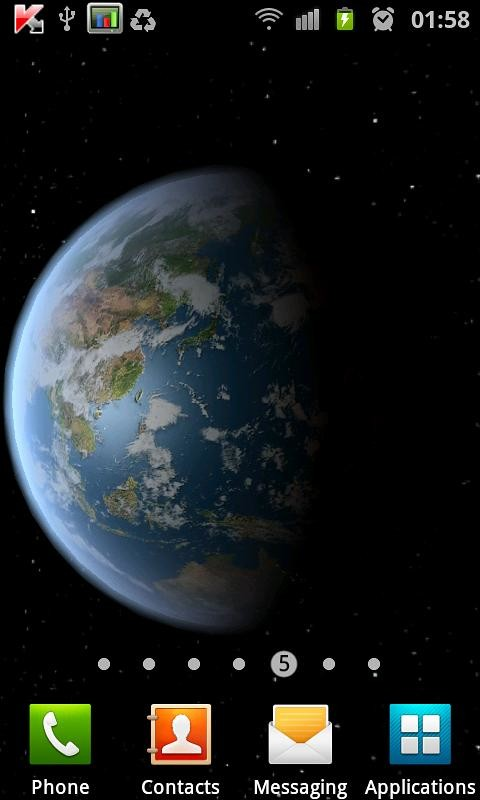 Earth HD Free Edition Free Android Live Wallpaper download ...