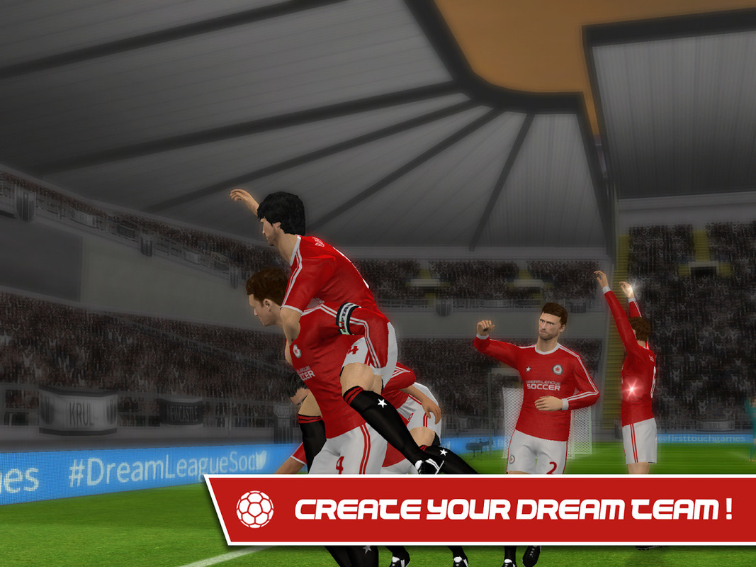 Dream league soccer 2016 apk free sports android game download