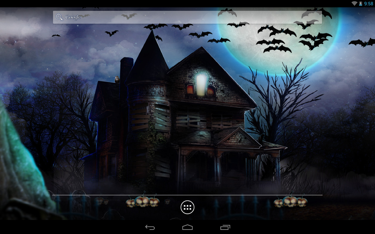 Halloween Live Wallpaper Free Android Download