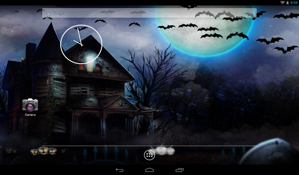 Halloween live wallpaper free android live wallpaper for Wallpaper live home