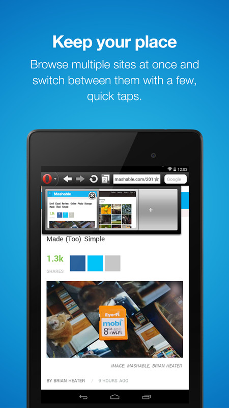 Opera Mini – Fast web browser APK Free Android App download - Appraw