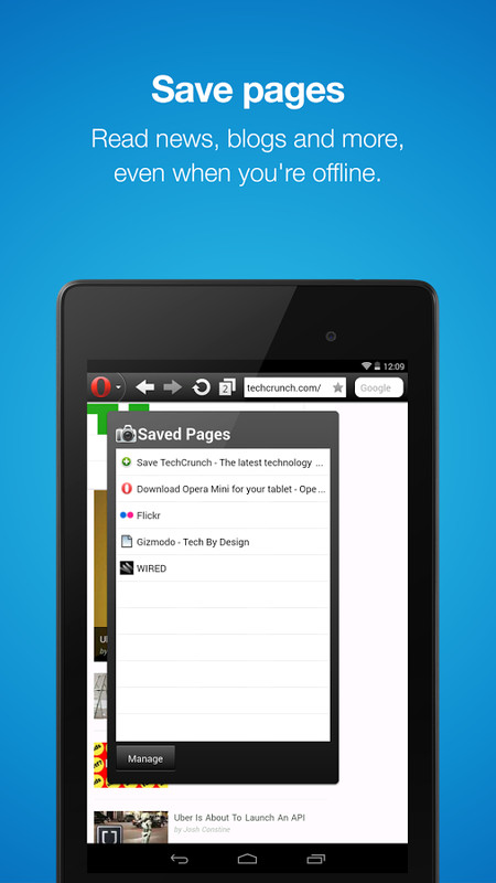 Opera Mini – Fast web browser APK Free Android App download