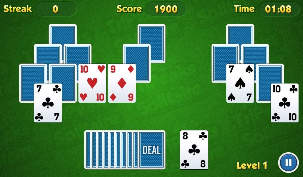 tri peaks solitaire download