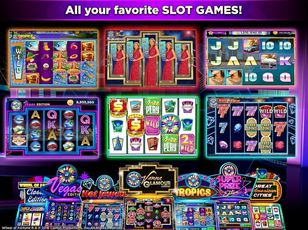 Free Casino Wheel Of Fortune Slots