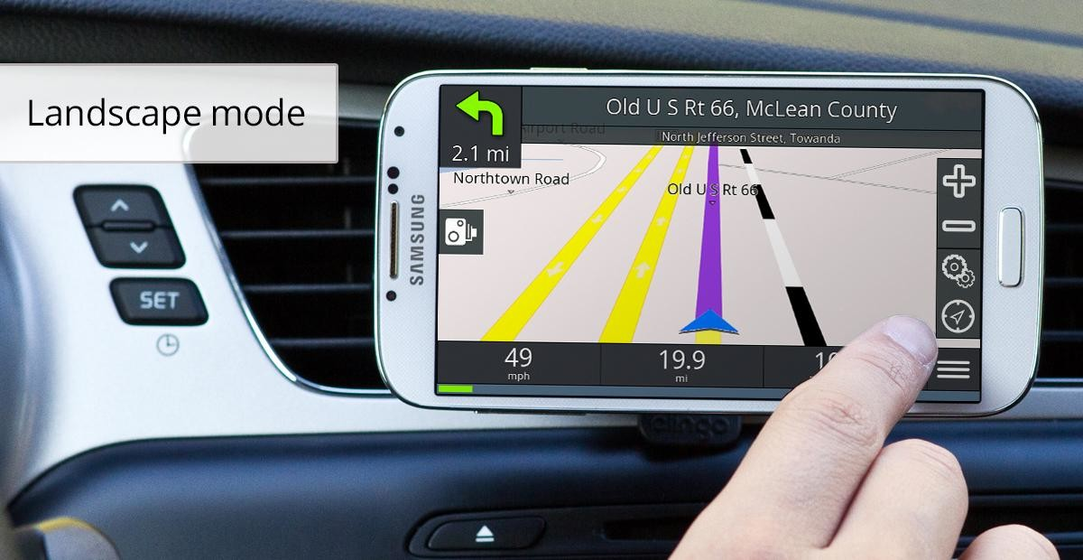 GPS Navigation BE-ON-ROAD for Android - Download