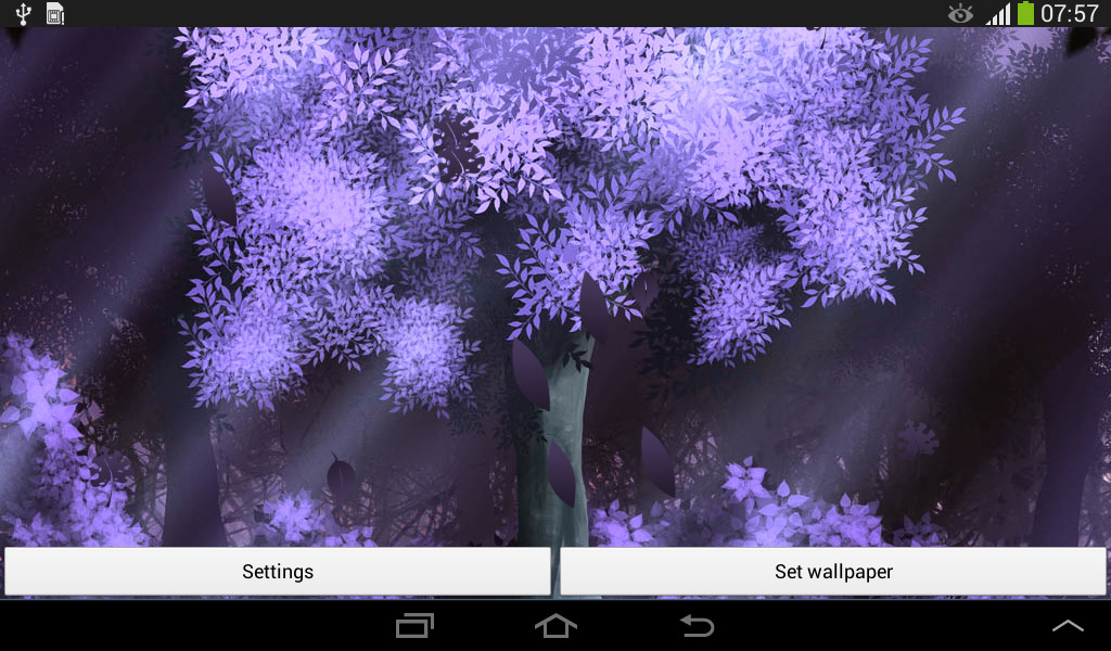 Forest HD Live Wallpaper Free Android