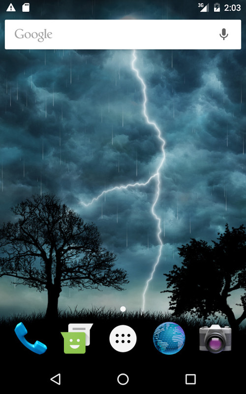 Live Storm Free Wallpaper Free Android Live Wallpaper
