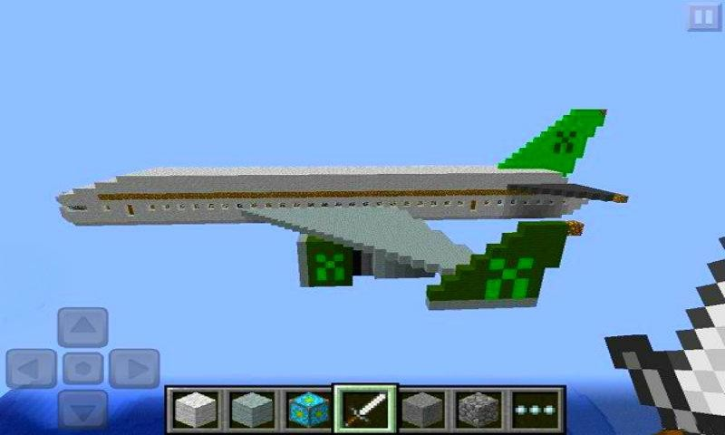 How to build a plane in minecraft pe