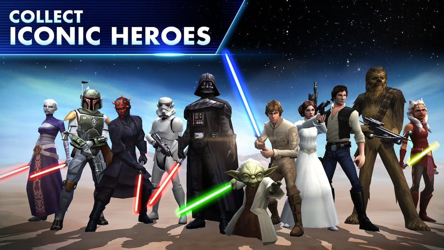 Star Wars: Galaxy of Heroes APK MOD Android ...