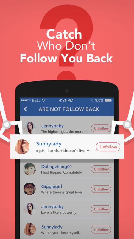 Friend Check, Follow Tracker for Twitter,Instagram App ...