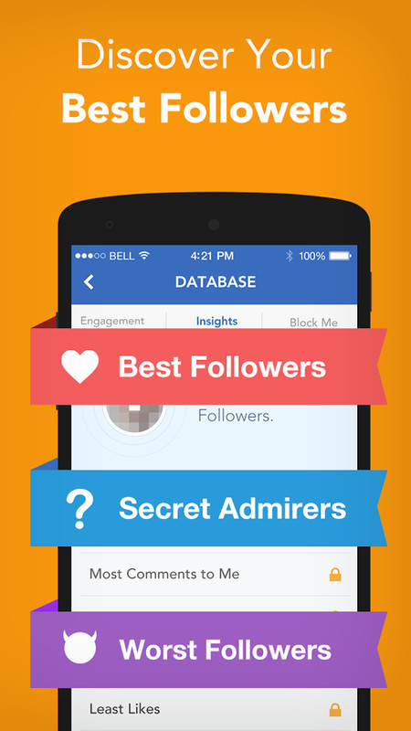 Android Apps: Followers Tracker For Instagram's Users ...