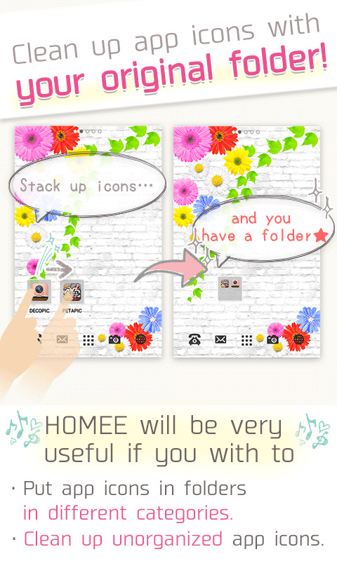 Homee launcher cuter kawaii apk free android app for Www homee