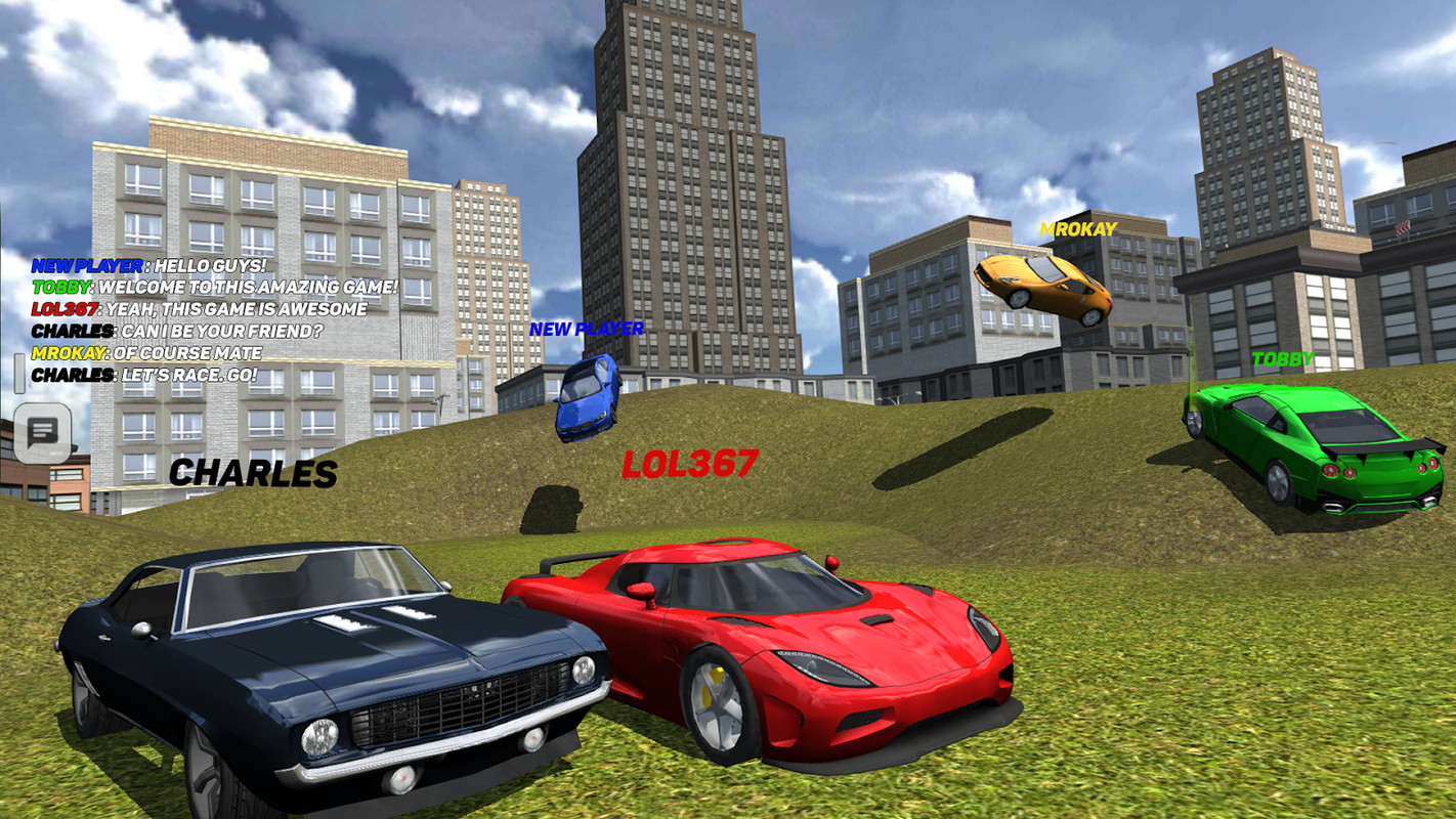 car games multiplayer online free