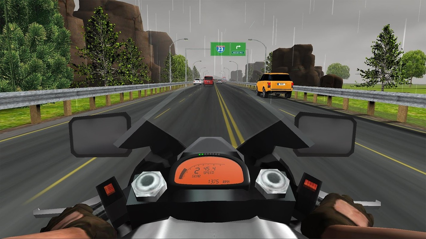 Real Driving Games >> Traffic Rider : Multiplayer APK Free Racing Android Game download - Appraw