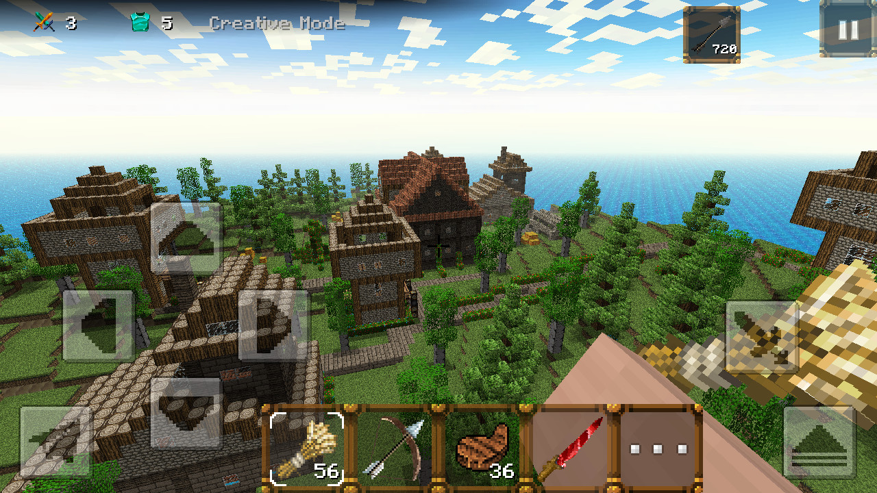 Medieval craft 2 castle build apk free adventure android for Build a building online free