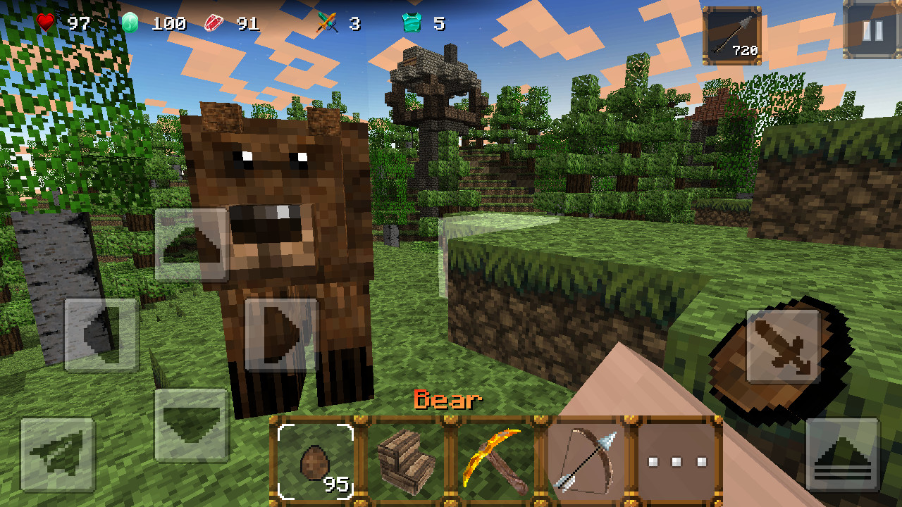 Medieval craft 2 castle build apk free adventure android for Crafting and building 2
