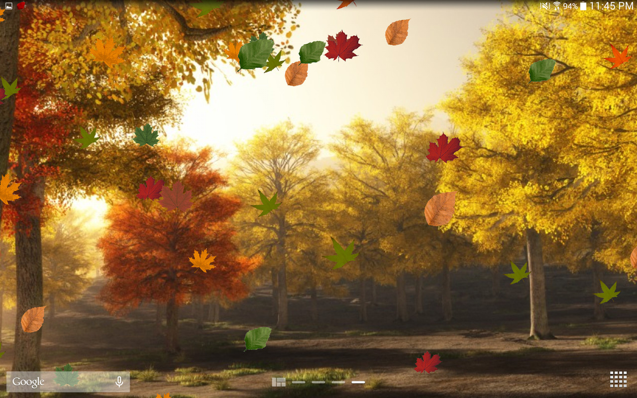 colorful autumn live wallpaper free android live wallpaper