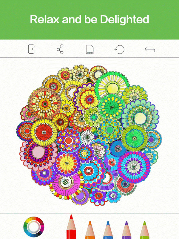 Adult Coloring Book Premium Apk Free Android App Download