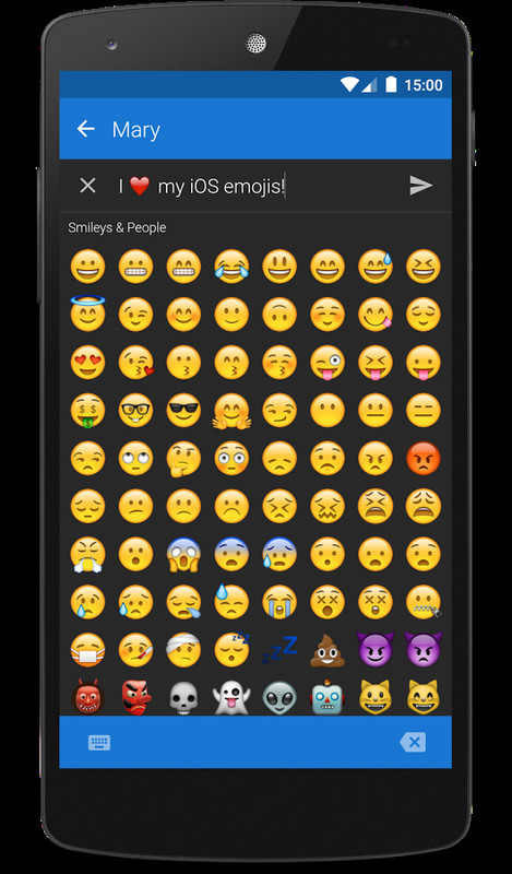 iphone android emoji textra emoji ios style apk free android app 11587