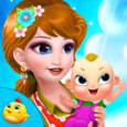 Pregnant Princess Doctor Game Icon