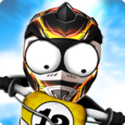 Stickman Downhill - Motocross Icon