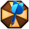 Crazy Dart Shooter Icon