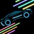 Neon cars Icon