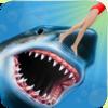 Angry Shark 3D Simulator Game Icon