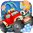 Monster Car Garage Fun Icon