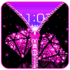 Diamond Zip Lock Screen Prank Icon