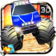 Nitro Truck 3D Icon