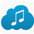 Cloud MP3 Icon