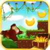 Jungle Monkey running Icon