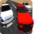 Police chase 3d unreal cops Icon