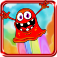 Cute Monster Jump Icon