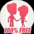 YoCutie ♥ 100% Free Dating App Icon