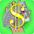 Raining Money Icon