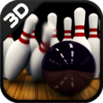 3D Bowling Alley Icon