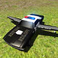 Flying Car Free: Police Chase Icon