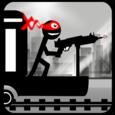 Stickman Train Shooting Icon