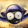 Wingsuit Stickman Icon