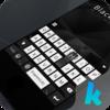 Black & White Keyboard Theme Icon