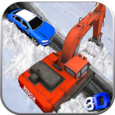 Snow Rescue Excavator Sim Icon
