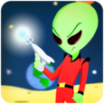 Aliens World Icon
