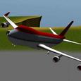 3D Airplane flight simulator 2 Icon