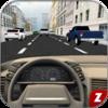 Traffic Car Driving 3D Icon