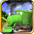 Train Track Builder 3D Icon