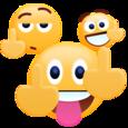 Middle Finger Emoji Sticker Icon